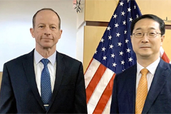 S. Korean, U.S. diplomats discuss bilateral, regional issues on Friday