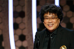S. Korea could win first ever Golden Globe Award on Sunday with Bong Joon-ho's 'Parasite'