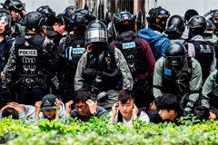 Dozens arrested in Hong Kong amid protests against Chinese parallel traders