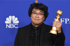 'Parasite' becomes first S. Korean film to win Golden Globe