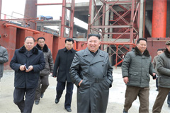 N. Korean leader visits fertil
