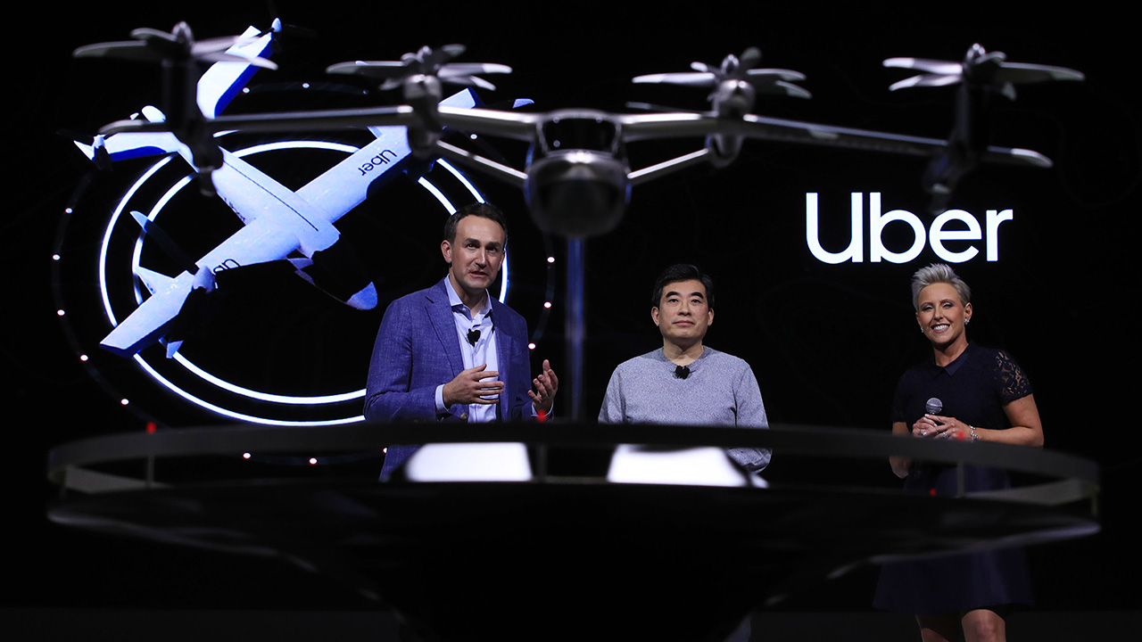 Hyundai Motor teams up with Uber to launch flying taxi by 2023