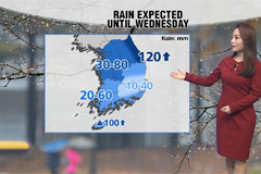 Heavy rain or snow in most parts until Wednesday
