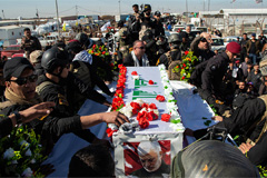 56 killed, more than 200 injured in stampede at funeral for slain Iranian General Soleimani