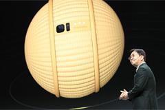 Samsung's rolling robot, LG's