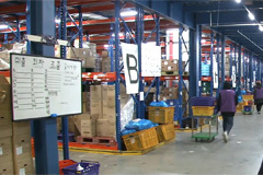 Early morning delivery companies use 'cold chain' to keep food fresh