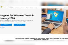 Support for Microsoft's Windows 7 operating system ends on Tuesday