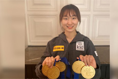 Choi Min-jeong dominates Four Continents skating championships with five gold medals