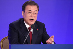 Moon still optimistic about denuclearization talks