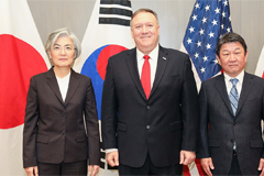 Top diplomats of S. Korea, U.S. discuss N. Korea, Middle East tensions