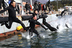 Navy's SSU infamous training takes place in Jinhae military base