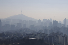 South Korea blanketed with