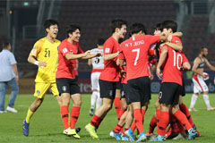 Late goal helps S. Korea defeat Jordan to advance to semifinal