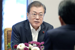 Moon optimistic over Korean economy in New Year, promises to keep recovery momentum