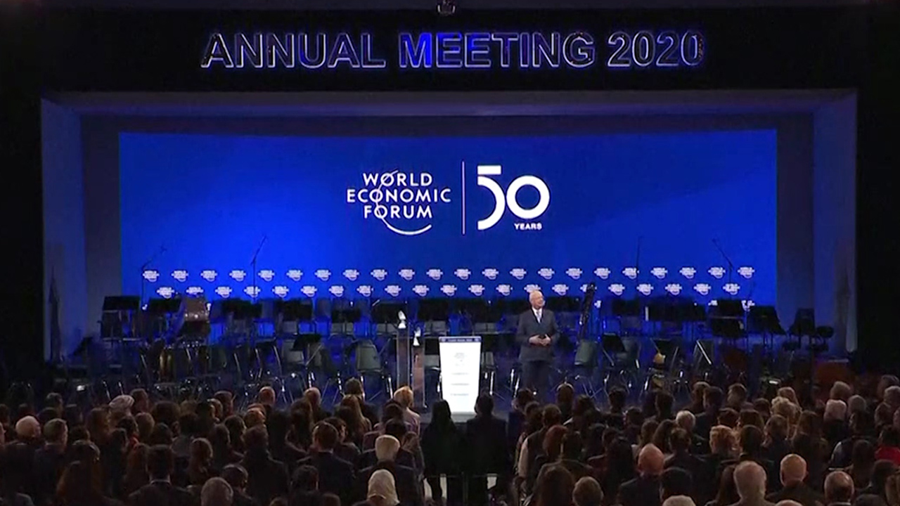 World leaders call for unity at Davos Forum
