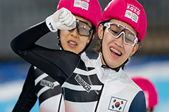 S. Korean skaters take gold in both men's and women's 500m at Winter Youth Olympic Games