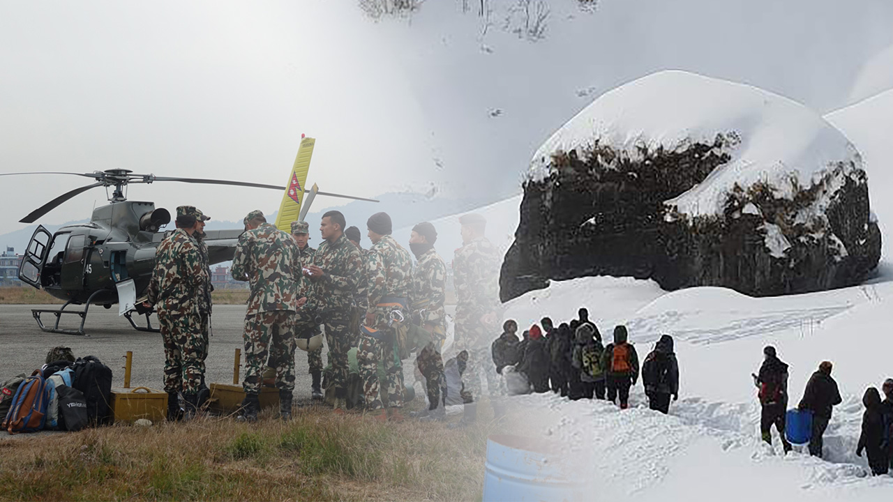 Nepal deploys soldiers in search for missing S. Korean trekkers