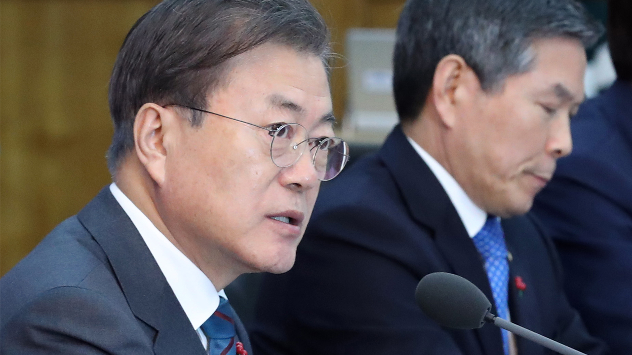 Moon orders officials to do utmost to contain spread of coronavirus