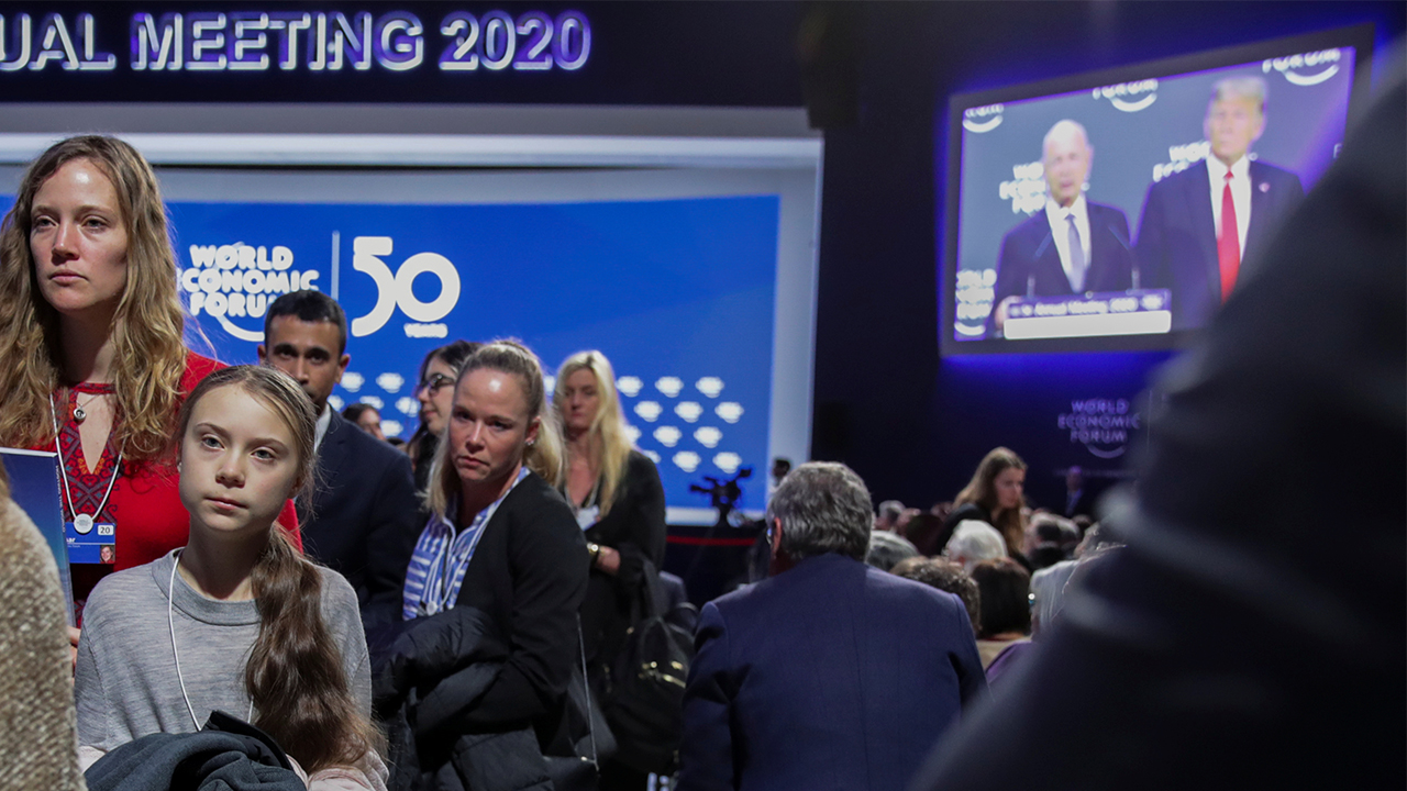 Trump, Greta Thunberg clash at Davos over climate change