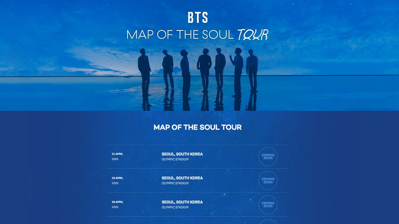 BTS announce new world tour starting in April in Seoul