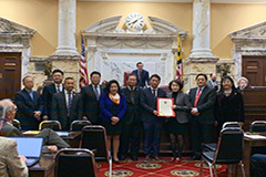 Maryland Senate adopts resolution marking 100 years since death of Yu Gwan-sun