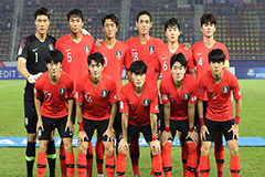 S. Korean U-23 football team d