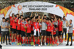S. Korea beat Saudi Arabia to win Asian U-23 football title