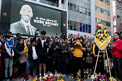 Basketball icon Kobe Bryant  dies in helicopter crash
