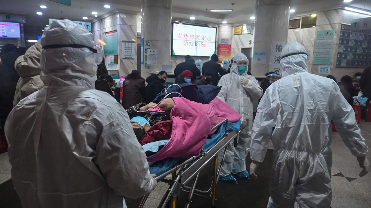 Beijing reports its first coronavirus death