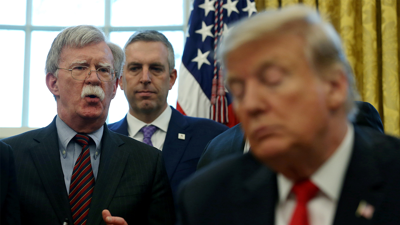 Trump says Bolton's remarks in unpublished manuscript are 'false'