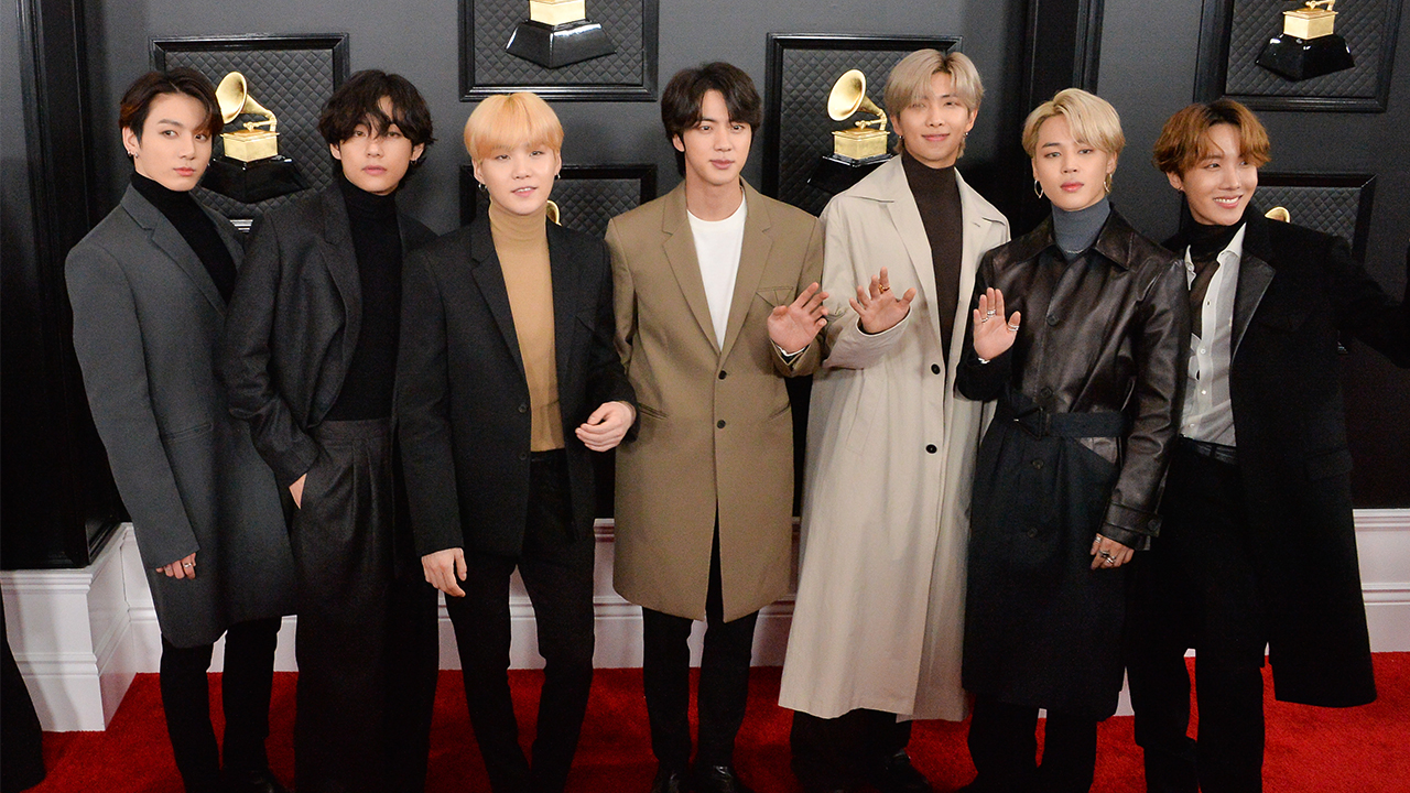 BTS become first South Koreans to perform at Grammy awards show