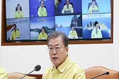 Moon promises air-tight quarantine of Korean nationals returning from Wuhan