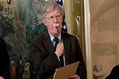 White House says Bolton's book can't be published due to