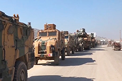 Turkey deploys additional armed vehicles to Syrian border