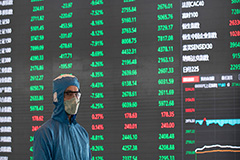 Shanghai Composite plunges 8.7% after market reopens on Monday