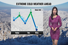 Major cold ahead this week along with snow