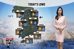 Frigid air continues to grip much of Korea