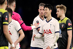 Tottenham Hotspur's Son Heung-min scores for 4th straight match