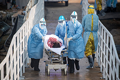 China's coronavirus death toll surpasses 722, with more than 80 plus deaths reported Saturday