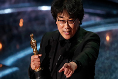 'Parasite' wins best Original Screenplay at 92nd Academy Awards