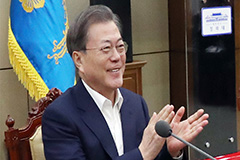 President Moon congratulates Parasite for grabbing four Oscars