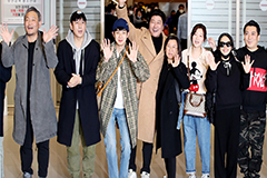 Star-studded cast of 'Parasite' returns to S. Korea to hero's welcome after winning four Oscars