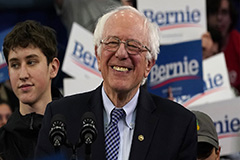 Sanders wins New Hampshire primary; Buttigieg in second place