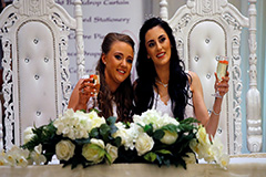 Brides in Northern Ireland become first to wed after same-sex marriage ban lifted
