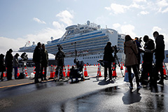 COVID-19 infections spike in China's Hubei Province; 40 more cases confirmed on Diamond Princess