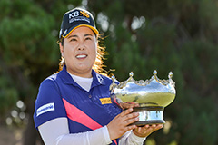 S. Korean golfer Park In-bee captures 20th LPGA win at Women's Australian Open