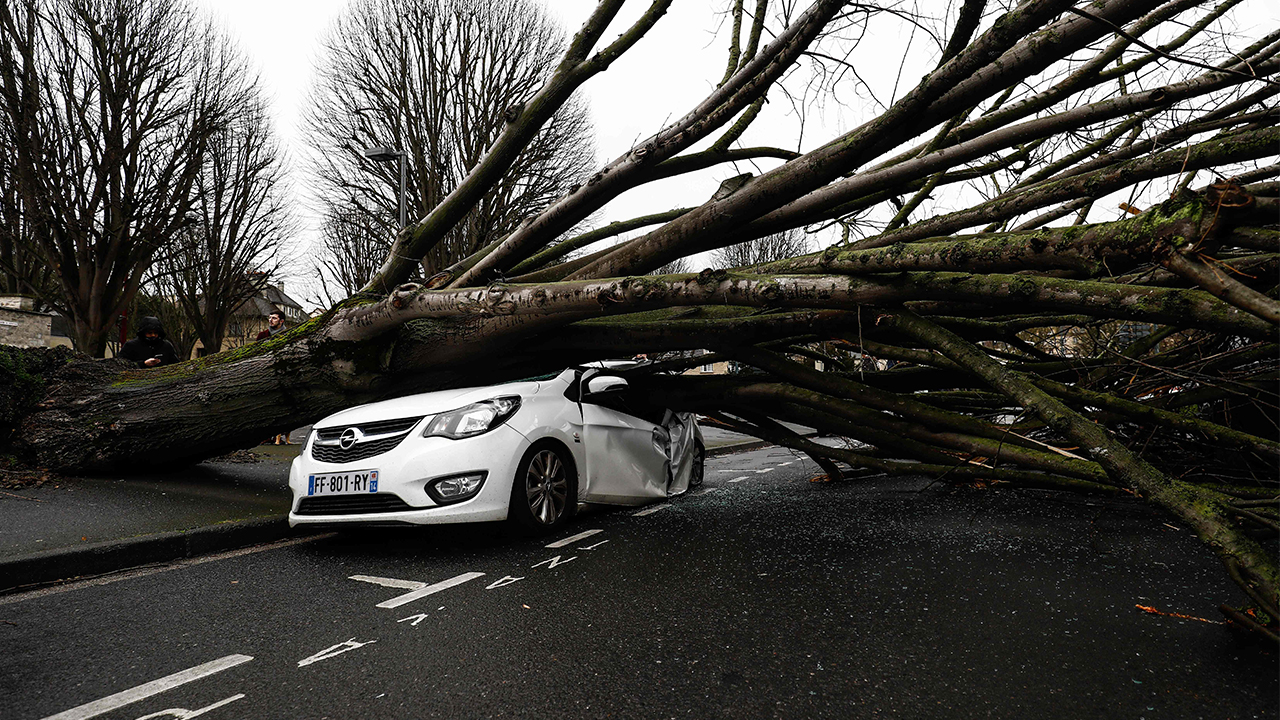 UK hit hard by Storm Dennis; hundreds of flood warnings, alerts issued