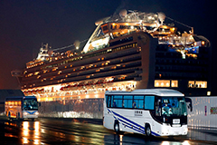 Seoul to evacuate S. Korean nationals from quarantined cruise ship at Japan's Yokohama port