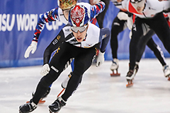 S. Korea's Park Ji-won wins 1,000m title at ISU Short Track World Cup