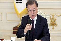 President Moon calls for tighter quarantine measures with schools to resume classes soon